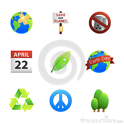 Earth Day Icons