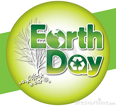 Free Earth Day Logo Type Stock Photography - 13594132