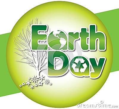 Earth Day Logo. EARTH DAY LOGO TYPE (click