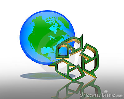 Earth Day Recycling symbol