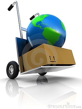 Free Earth Delivery Royalty Free Stock Photography - 13317247