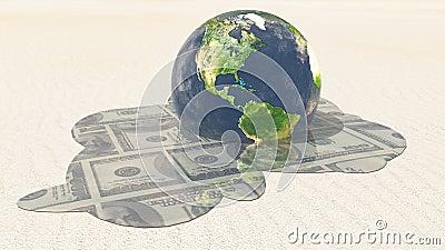Earth Dollar melt