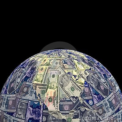 Earth dollars sphere