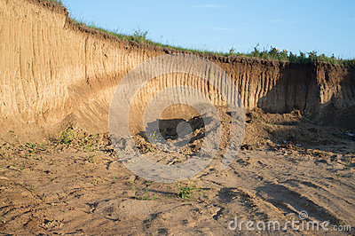 Earth excavation