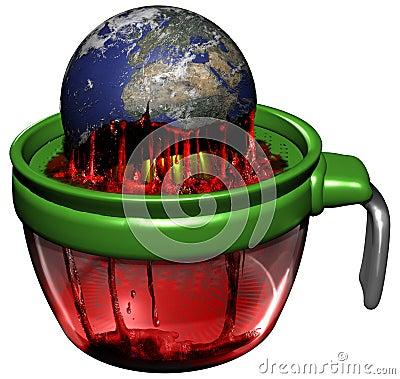 Free Earth Exploitation Royalty Free Stock Image - 92604326