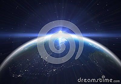Earth flare