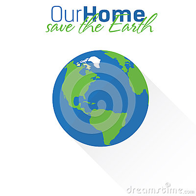 Free Earth Flat Icon Royalty Free Stock Image - 57909056