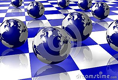 Earth on floor