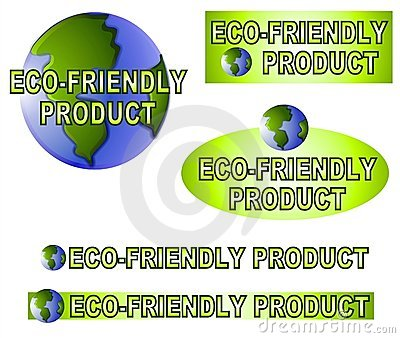 Earth Friendly Labels Stickers