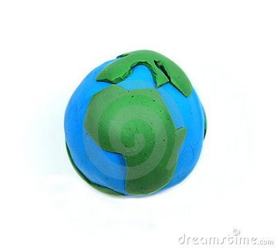 Free Earth From Kids Clay Royalty Free Stock Image - 17796106