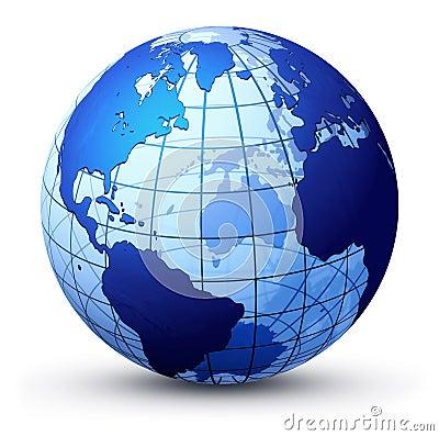 Free Earth Globe Royalty Free Stock Photography - 2319547