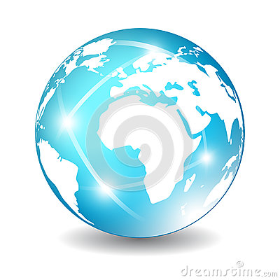 Free Earth Globe Icon Stock Photo - 30678430