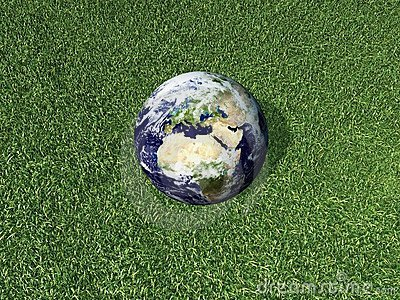 Earth on he Grass