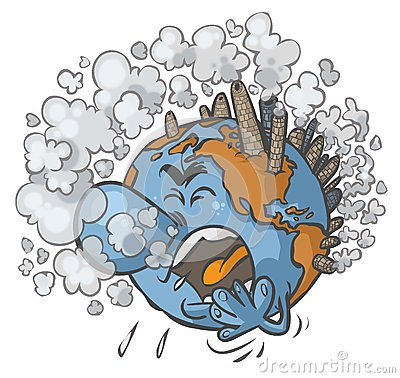 Earth having a cough
