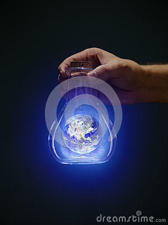 Free Earth In A Bottle Stock Photos - 27698533