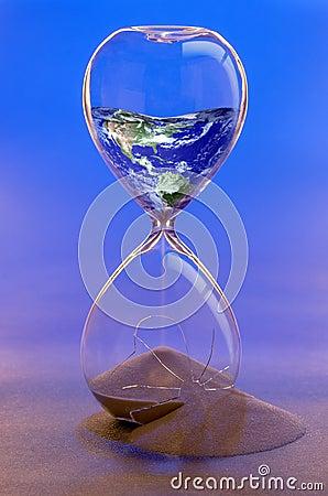 Free Earth In Broken Hourglass. Earth Image NASA Stock Photo - 50582710