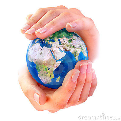 Free Earth In Hands Stock Images - 2831364