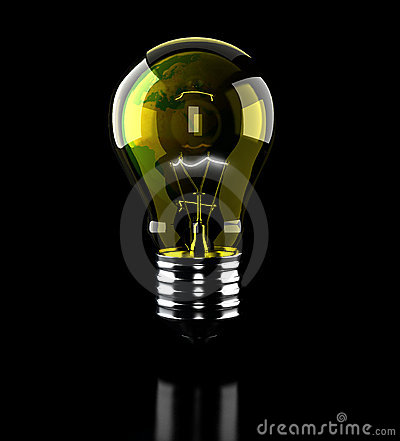 Earth light bulb