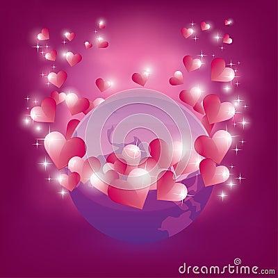Earth in love