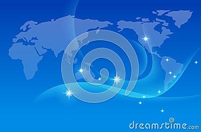 Earth map  ,vector