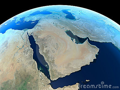 Earth - Middle East