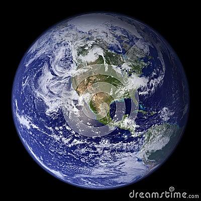 Earth Model: USA View