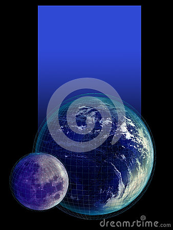 earth and moon together - photo #46