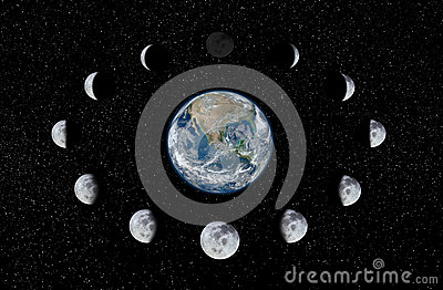 moon phases around the earth - photo #23