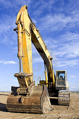 Free Earth Mover Stock Image - 804621