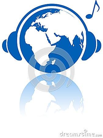 Earth music world headphones Eastern hemisphere