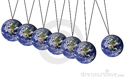 Earth pendulum