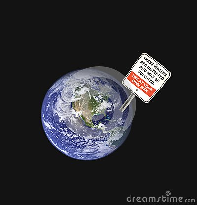 Earth Pollution Royalty Free Stock Photo - Image: 21121165