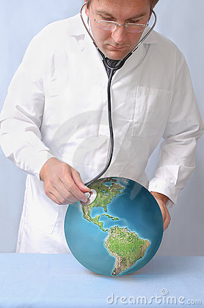 Free Earth S Condition Diagnosis Stock Images - 1307414