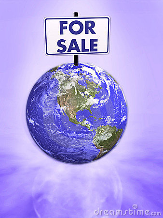 Earth for sale 3d