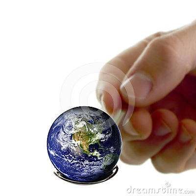 Earth on a spoon