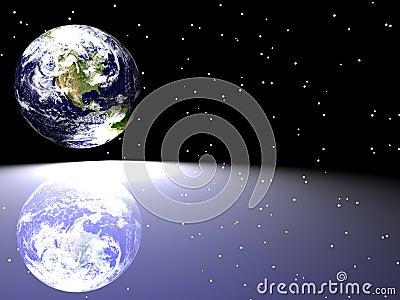 Earth / Star Scape