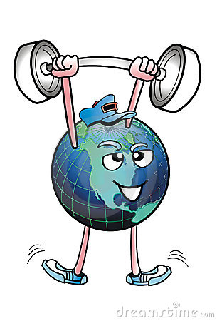 Earth Strong man.