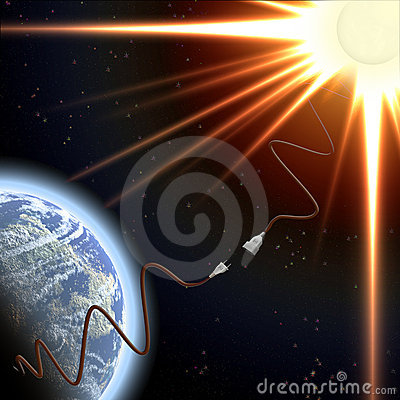 Earth and Sun and Energy