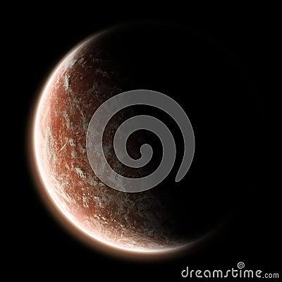 Earth sunrise - Universe exploration