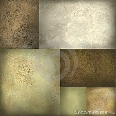 Earth tone brown background layout
