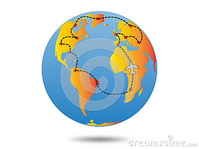 Earth travel plan