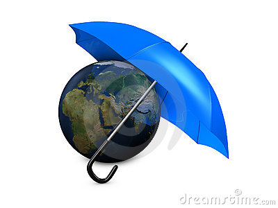 Earth umbrella