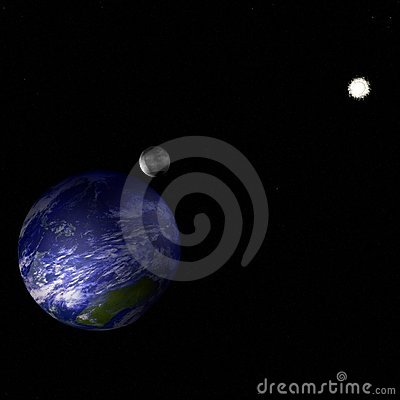 Earth in universe