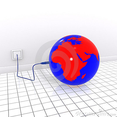 Earth usb