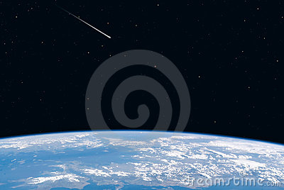 Earth view space