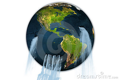 Earth of water