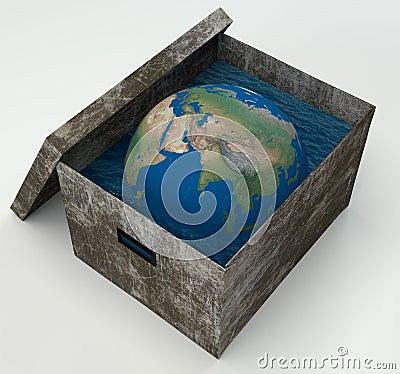 Earth Water in box