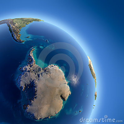 Free Earth With High Relief, Illuminated Royalty Free Stock Image - 22552346