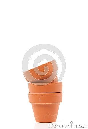 Free Earthenware Flower Pots Stock Photos - 19028683