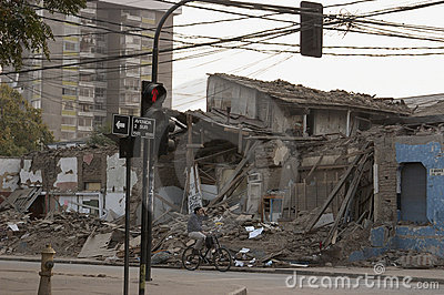 Earthquake in Chile, 2010 February 27 Editorial Image